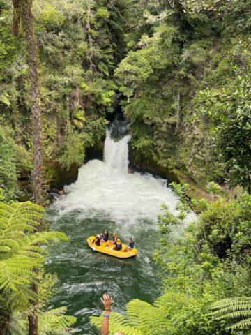 man in yellow kayak on river during daytime